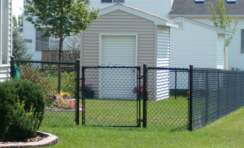 chain link fence black ardmore pa 19003