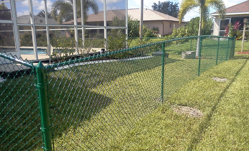 chain link fence green ardmore pa 19003