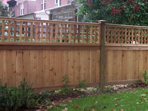 image of wood fence