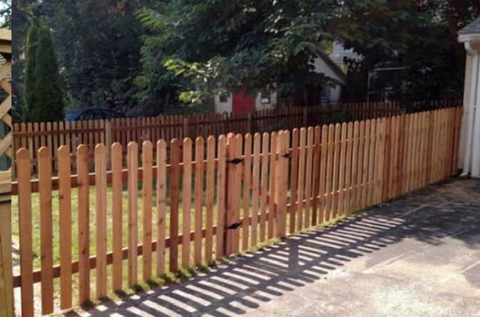 wood fence WRC Spaced Picket ardmore pa 19003