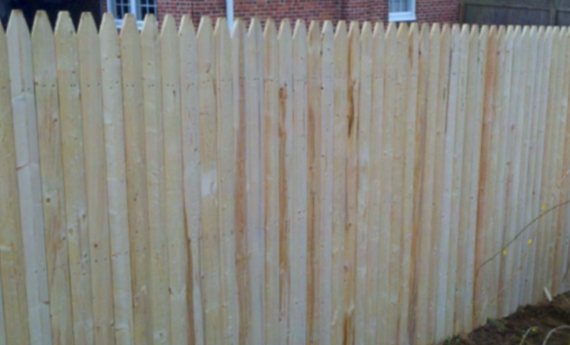 wood fence milled spruce ardmore pa 19003