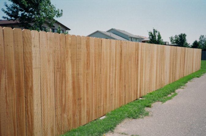 wood fence solid board ardmore pa
